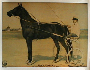 Dan Patch race horse print