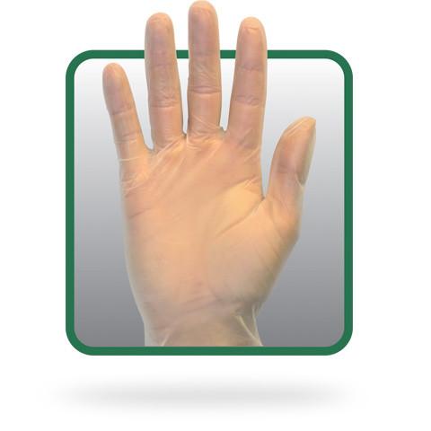 1000pcs Latex Disposable Gloves 10 Boxes of 100, Medium Powder Free