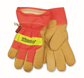 HI-VIS LINED GRAIN PIGSKIN LEATHER PALM
