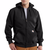 PAXTON HEAVYWEIGHT HOODED ZIP-FRONT SWEATSHIRT