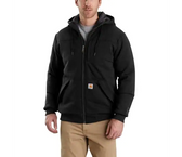 Rain Defender Rockland Quilt Lined Full Zip Hooded Sweatshirt