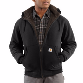 ROCKLAND RAINDEFENDER SHERPA-LINED HOODED SWEATSHIRT