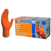 Gloveworks® HD Orange Nitrile Gloves
