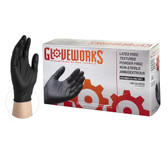 Gloveworks® Black Nitrile Gloves