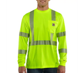 FORCE HIGH-VISIBILITY LONG SLEEVE CLASS 3 T SHIRT