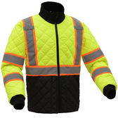 GSS 8007 Class 3 Two-Tone Quilted Jacket