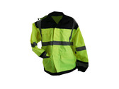Hi-Vis Rain Jacket by Work Force