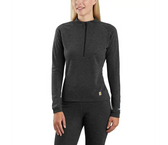 Women's Base Force Heavyweight Poly-Wool Quarter Zip