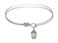 St. Raphael Bangle Bracelet