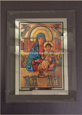 Framed Mary, Ark of the Covenant Icon