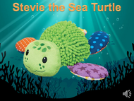Stevie the Sea Turtle Listen+Learn Plush Toy