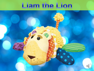Liam the Lion Listen+Learn Plush Toy