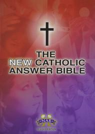 NEW CATHOLIC ANSWER LARGE PRINT BIBLE (Burgundy)