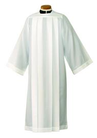 Plain Alb (monks cloth or silky smooth poplin)