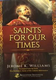 SAINTS FOR OUR TIMES - SANTOS PARA HOY--LIMITED QUANTITY