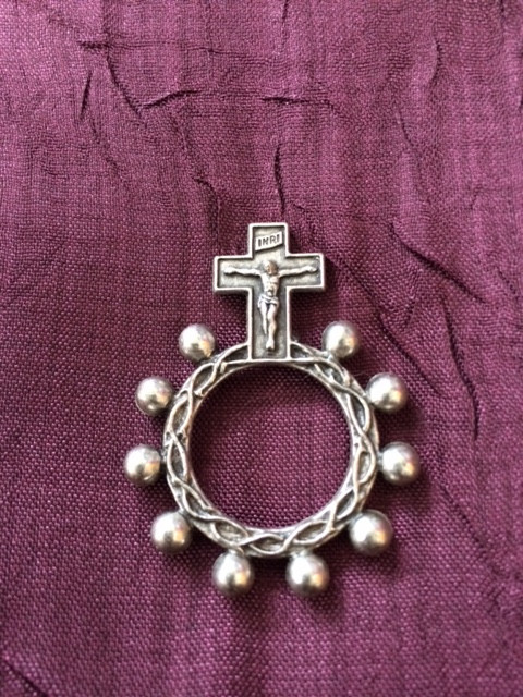 Mother Angelica Tour Ring Rosary