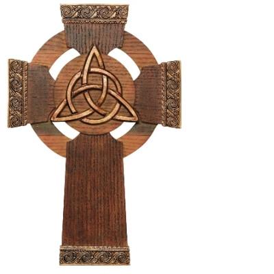 Trinity Knot Wall Cross
