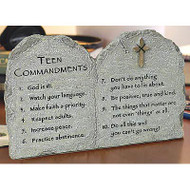 Teen Commandments Plaque