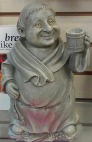 monk with mug