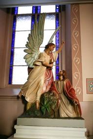 "Jesus in the Garden of Olives 67"" H"