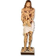"Scourged Christ 60""H"