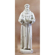 "Saint Francis with Dove 74""H"