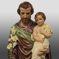 "St. Joseph & Child with Cross 38""H"