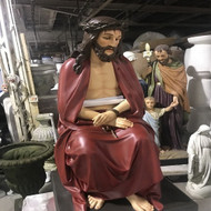 "Seated Christ 51""H"