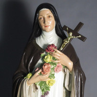 "St. Therese with Roses 60.0""H"