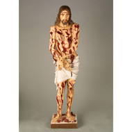 "Scourged Christ 37""H"