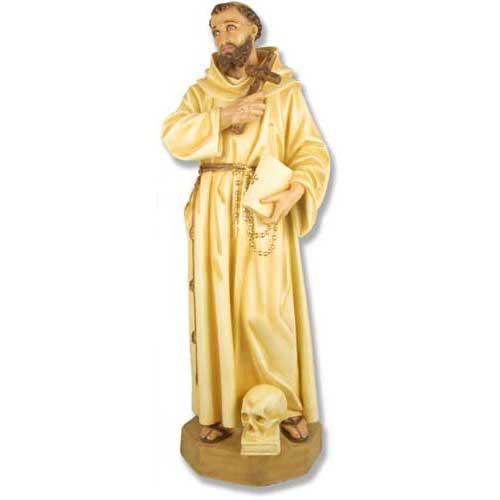 "St. Francis (Skull & Cross) 63""H"