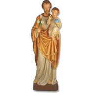 "St. Joseph & Child 49""H"