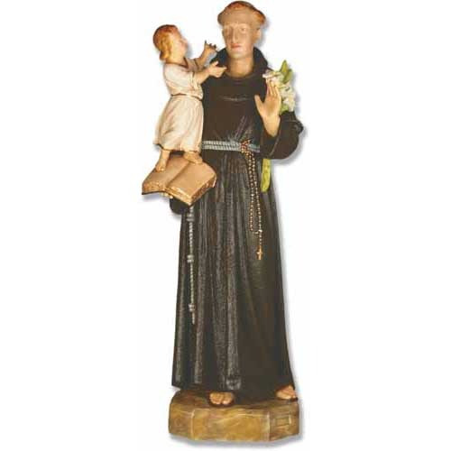 """St. Anthony with Child 53""""H"""