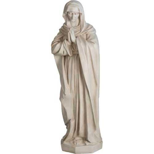 "Mary at Crucifixion 41""H - Fiberglass"