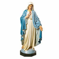"Mary with Hand Outstretched 65""H - Fiberglass"