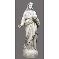 "Sacred Heart To The World 62""H - Fiberglass"