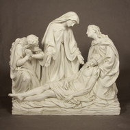 """Station 13 - Jesus is Removed from Cross (47""""H - Fiberglass)"""