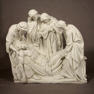 "Station 14 - Jesus is Buried (41""H - Fiberglass)"
