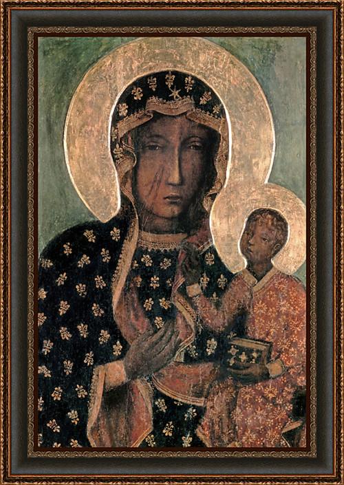 Our Lady of Czestochowa Byzantine Icon