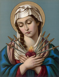 Our Lady of Sorrows (German - late 19th Century)