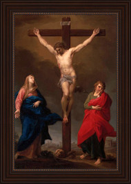 The Crucifixion by Pompeo Batoni
