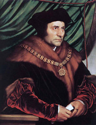 Saint Thomas More by Hans Holbein the Younger