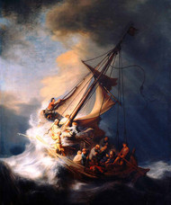 Storm the Sea of Galilee by Rembrandt
