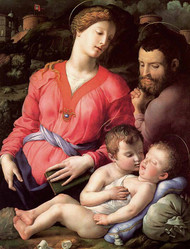 The Holy Family by Bronzino