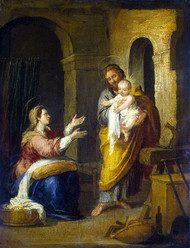 The Holy Family by Bartolomeo Esteban Murillo