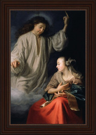 The Annunciation by Godfried Schalcken