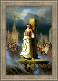 Saint Joan of Arc at the Stake by Herman Anton Shtilke