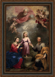 The Two Trinities by Bartolomeo Esteban Murillo