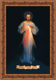 Divine Mercy - Vilnius by Eugene Kazimierowski (St Faustina)