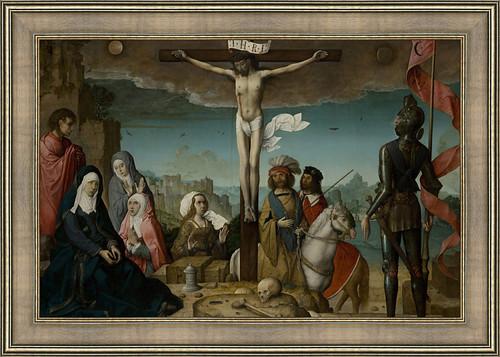 The Crucifixion by Juan de Flandes